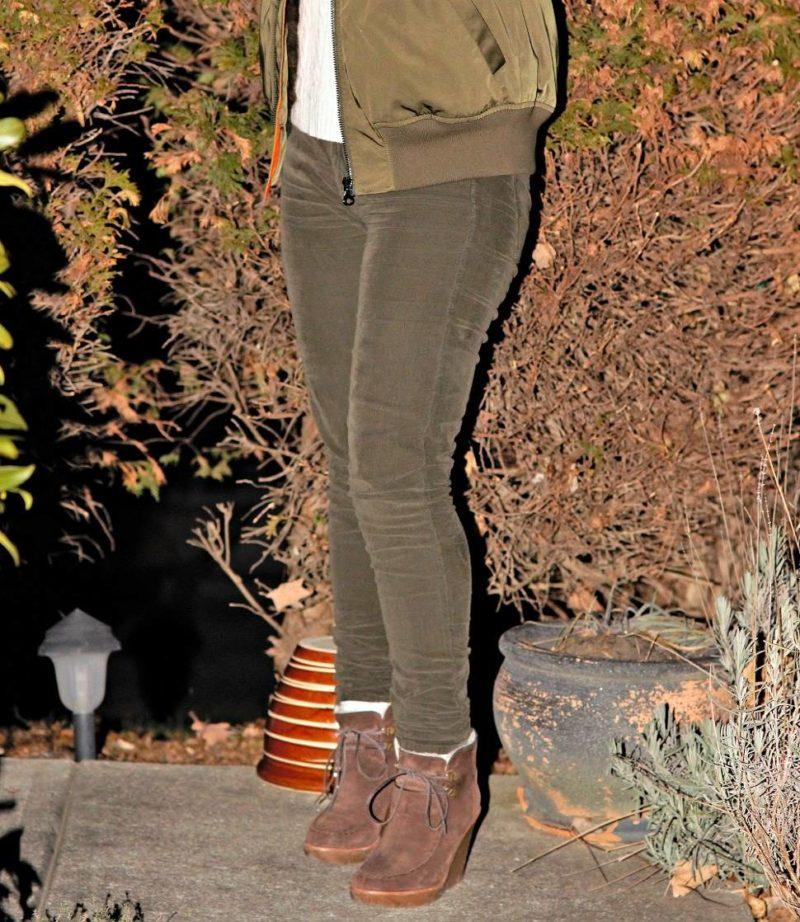 Vince Skinny Corduroy Jeans